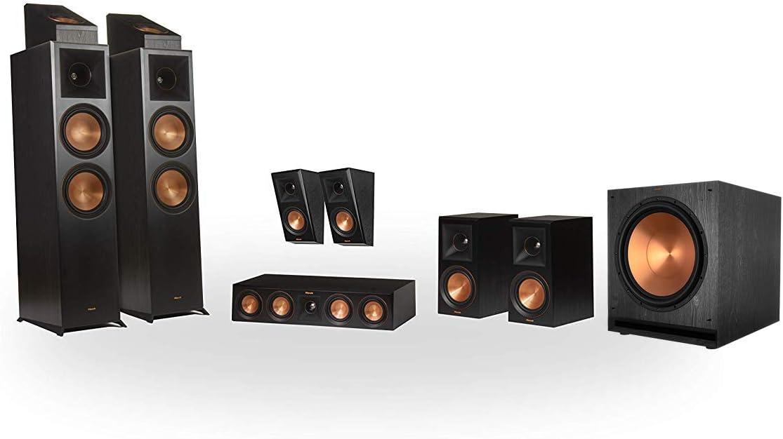Klipsch RP-8000F 5.1.4 Dolby Atmos Home Theater System - Ebony