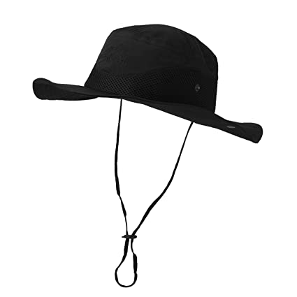 Vadventure Sun Protection Fishing Hat Waterproof Mens and Womens Wide Brim  Summer Boonie Hats for Hunting 8a2a693fd43