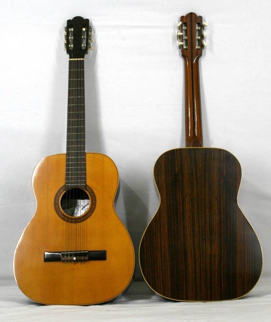 Musikalia luthery Vintage Classic guitarra modelo con Purfling de Matadi y mosaico–en palisandro–fabricado entre 1970y 1990
