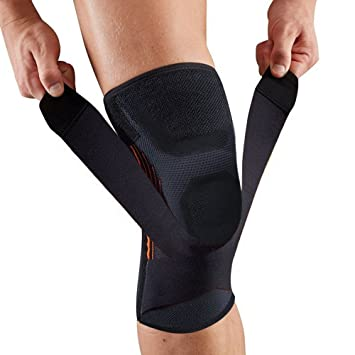 7074922322 Knee Brace Support Patella Stabilizer with Adjustable Strap&Non-Slip  Compression Knee Sleeve to Relieve Pain