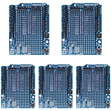 WinnerEco 5pcs Mini Breadboard Prototyping Prototype Shield ProtoShield for Arduino UNO