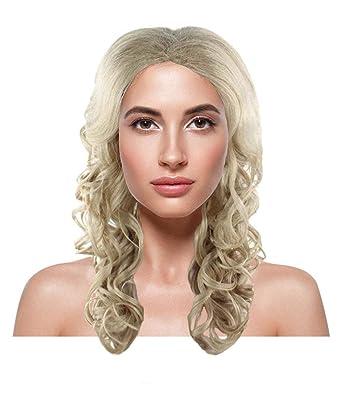 Amazon.com  Blonde Bombshell Wig HW-1891  Clothing 33f42e900ea1