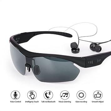 Z&HA Gafas De Sol Polarizadas Inteligentes Gafas Bluetooth ...
