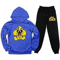 aiyuheping Anime Mikecr-ack - Sudadera con capucha y pantalones deportivos para niños y niñas