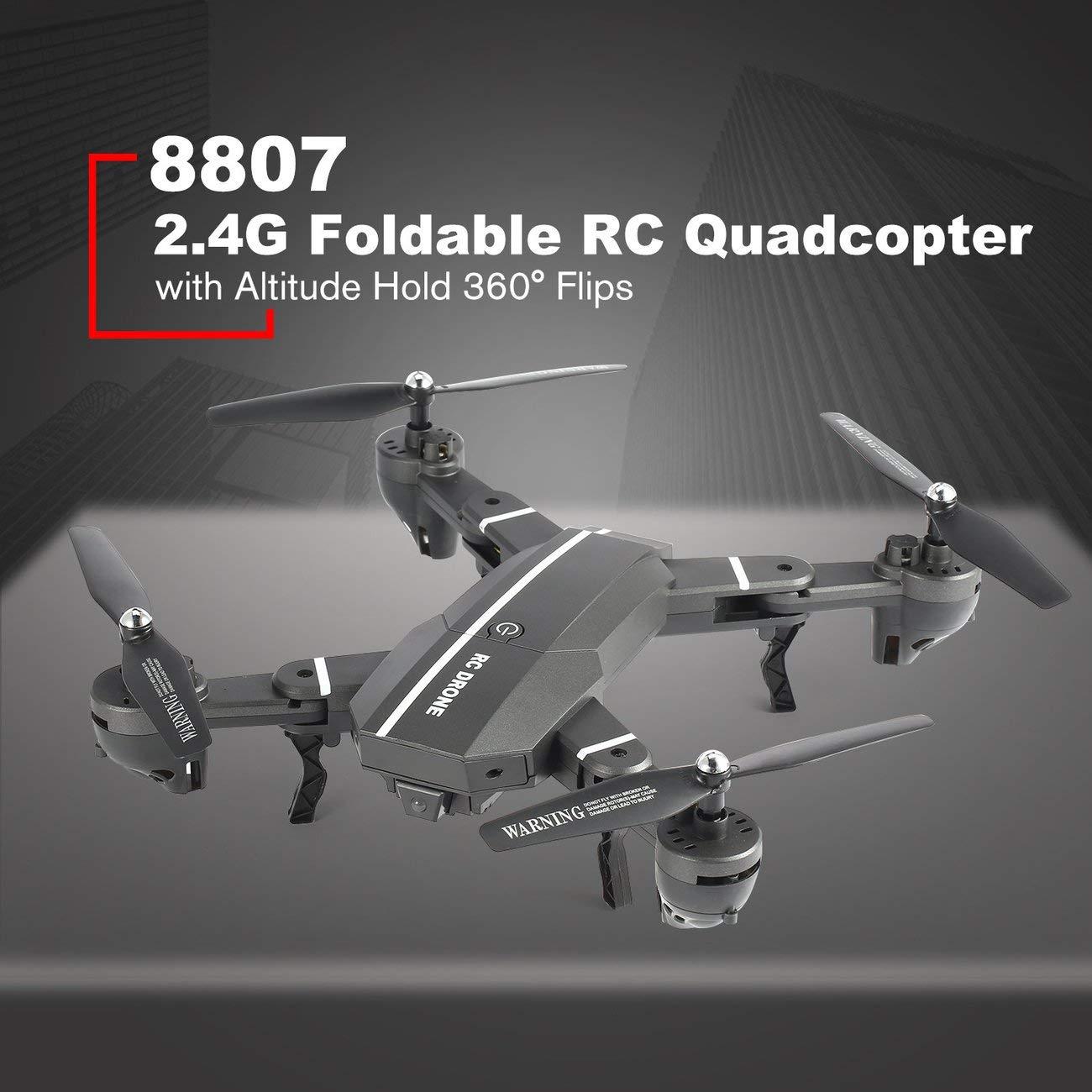 Socialism 8807W 2.4G FPV Drone Plegable Inteligente RC Quadcopter ...