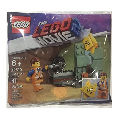 LEGO Movie 2 Star-Stuck Emmet Set 30620 (41 Pieces Polybag): Toys & Games [5Bkhe0802150]