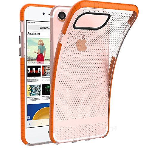iPhone 7/ 6/ 6S Case, EJBOTH Protector Case DualLayerBackcover [ 2in1 Rugged protective] Resilient [Heat Dissipation] Full Protection Drop resistance for iPhone 7/ 6/ 6S [TPU + PC (Advantage Comprehensive Coverage)
