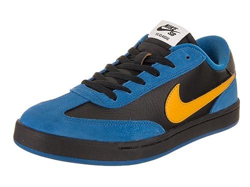 2c515b770048 Nike Men s SB FC Classic Royal Blue Varsity Maize Black Skate Shoe 9 Men  US  Amazon.in  Shoes   Handbags