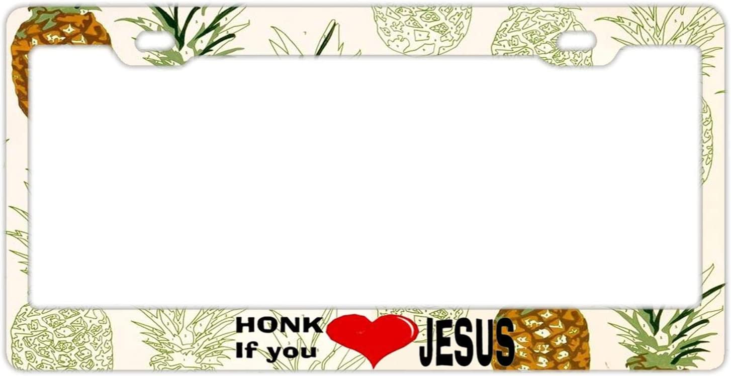 YEX Abstract Delicious Lobster License Plate Frame Car Licence Plate Covers Auto Tag Holder 6 x 12