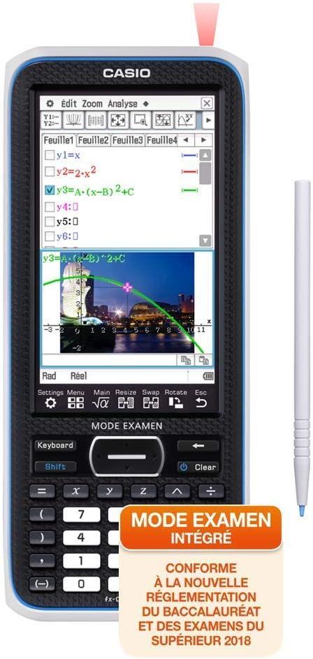 CASIO FX-CP400 Calculadora gráfica: Amazon.es: Oficina y papelería