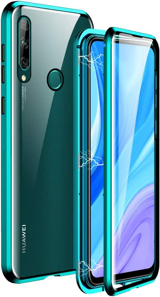 Amazon Com Igucac Case For Huawei Y9 Prime 2019 2 In 1 Magnetic Adsorption Cover With Front Back Tempered Glass And Full Coverage Anti Scratch Metal Protection For Huawei Y9 Prime 2019 P Smart Z Green The huawei y9 prime 2019 features a unique dividing line that makes this design standout from the rest. igucac case for huawei y9 prime 2019 2 in 1 magnetic adsorption cover with front back tempered glass and full coverage anti scratch metal protection