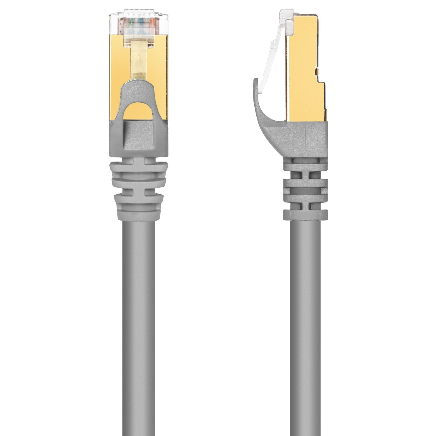 5 Feet 5 Pack Pure Copper RJ45 Gold-Plated Connectors 600 MHz Red 10 Gbps Fast Speed /& Performance Computers to Network Components Maximm Cat7 Ethernet Cable