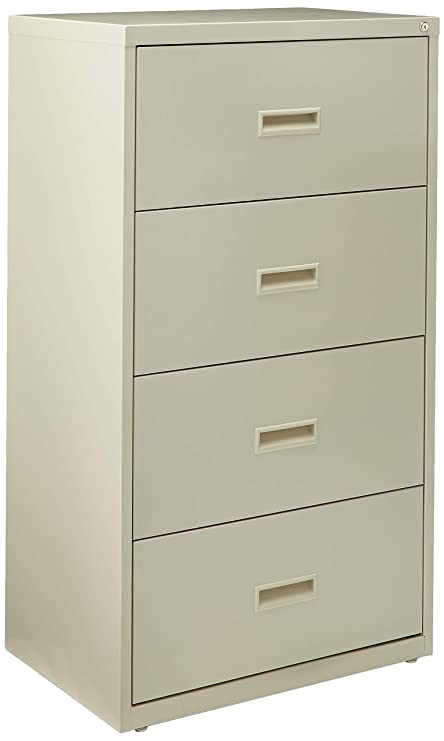 amazon com lorell 4 drawer lateral file 30 by 18 5 8 by 52 1 2 rh amazon com 4 drawer lateral file cabinet hon 4 drawer lateral file cabinet used