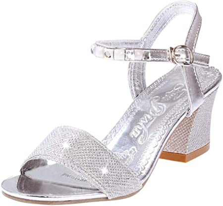 Sandalias de Tacon Alto de Elegantes para Mujer, Zapatos de Tacon Fiesta Sandalias de Vestir Boda Novia Baile Sandalias Sexy