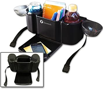 Amazon Com Zone Tech Auto Style Back Seat Organizer With Tray