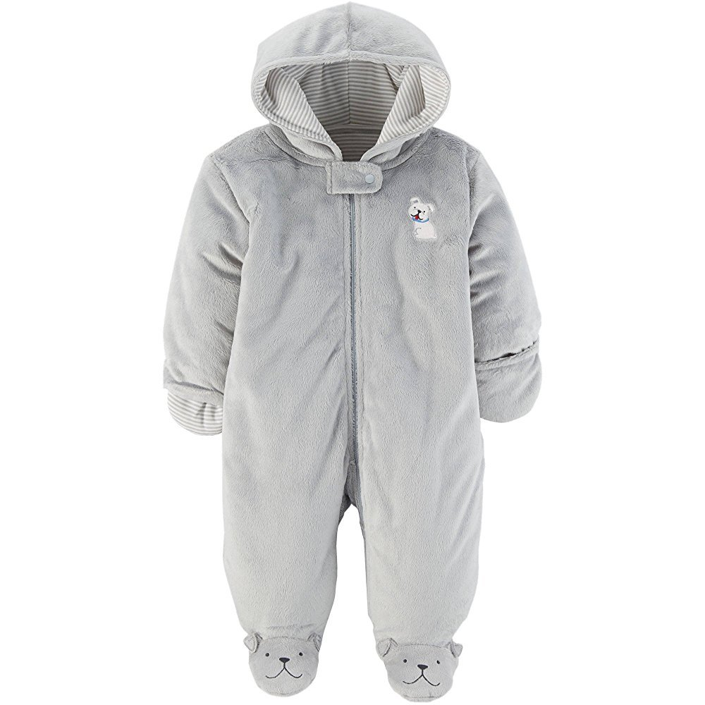 Carters, Child of Mine Baby Prams, Puffers Car Bag Snowsuits Baby Girl Boy Child Mine Carters Baby Prams Grey Dog)