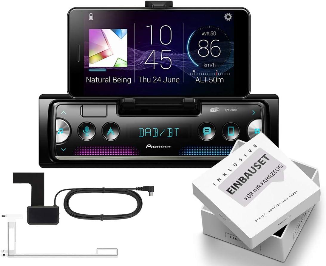 Pioneer Sph 20dab 1 Din Smartphone Auto Radio Dab Bluetooth Passend Für Iveco Daily Vi Ab