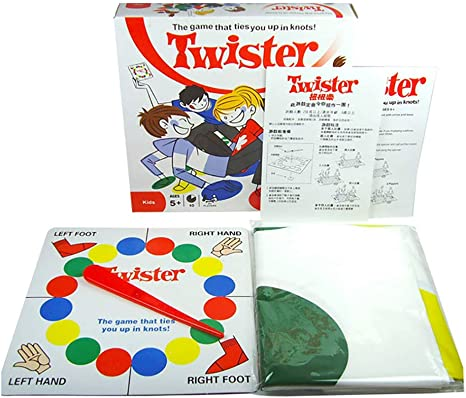 FEIDAjdzf Juguetes para niños, niñas y niños pequeños, Juego de Cuerpo Twister al Aire Libre, Fiesta, Favor, Familia, niños, Padres interactivos, Juguete de Menta: Amazon.es: Hogar