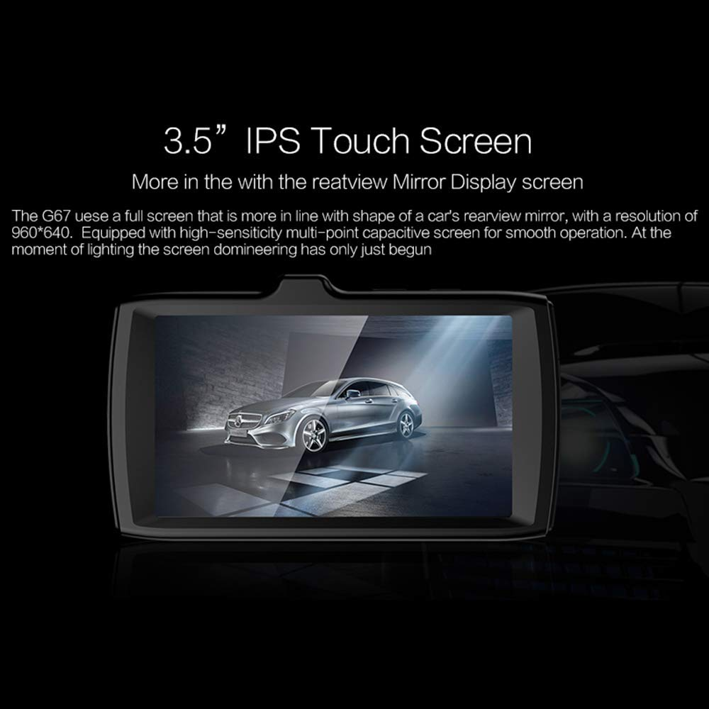 Amazon.com: ILYO 1080P Dash Cam, 3.5 Inchtouch Screen Dash ...