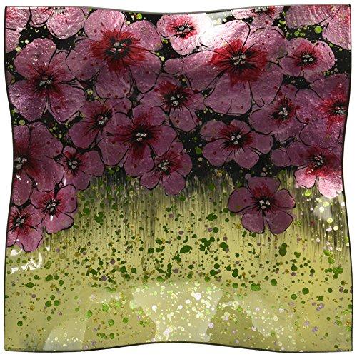 Plate Blossom Cherry (AngelStar 19473 Cherry Blossom Plate-12 Square)