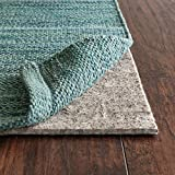 Rug Pad USA, 1/4'' Thick, Felt and Rubber, 5'x8', Superior Lock- Premium Non Slip Rug Padding for Hardwood Floors