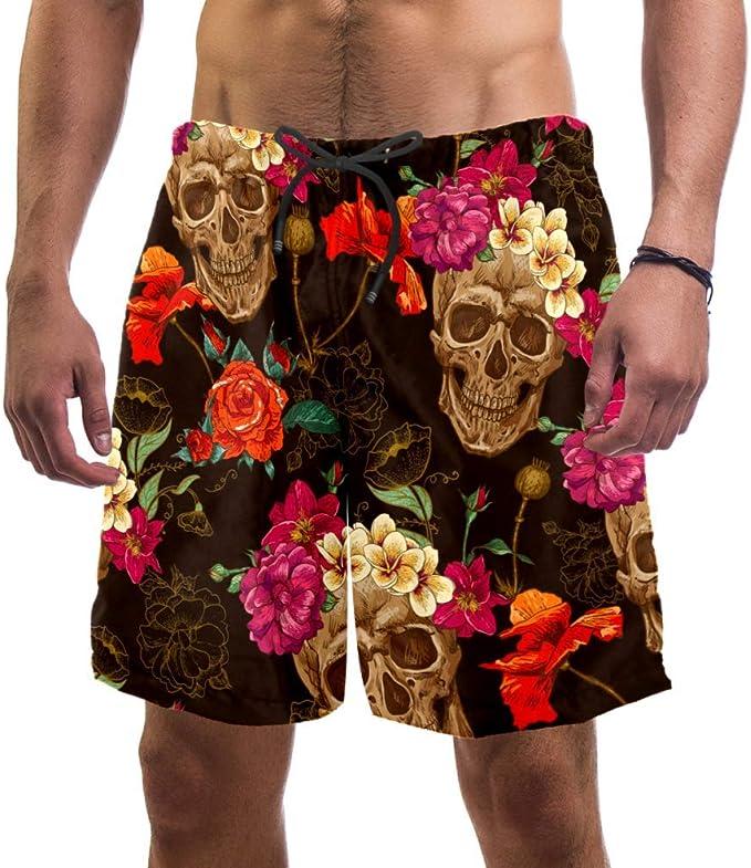 Acheter maillot de bain homme tête de mort online 3