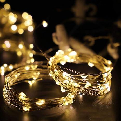 3 3 Metres 300 Lumieres Fil De Cuivre Lampe Rideau Lampe