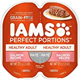 IAMs Perfect Portions Food Trays for Cats - Salmon - 75g (24 Pack)