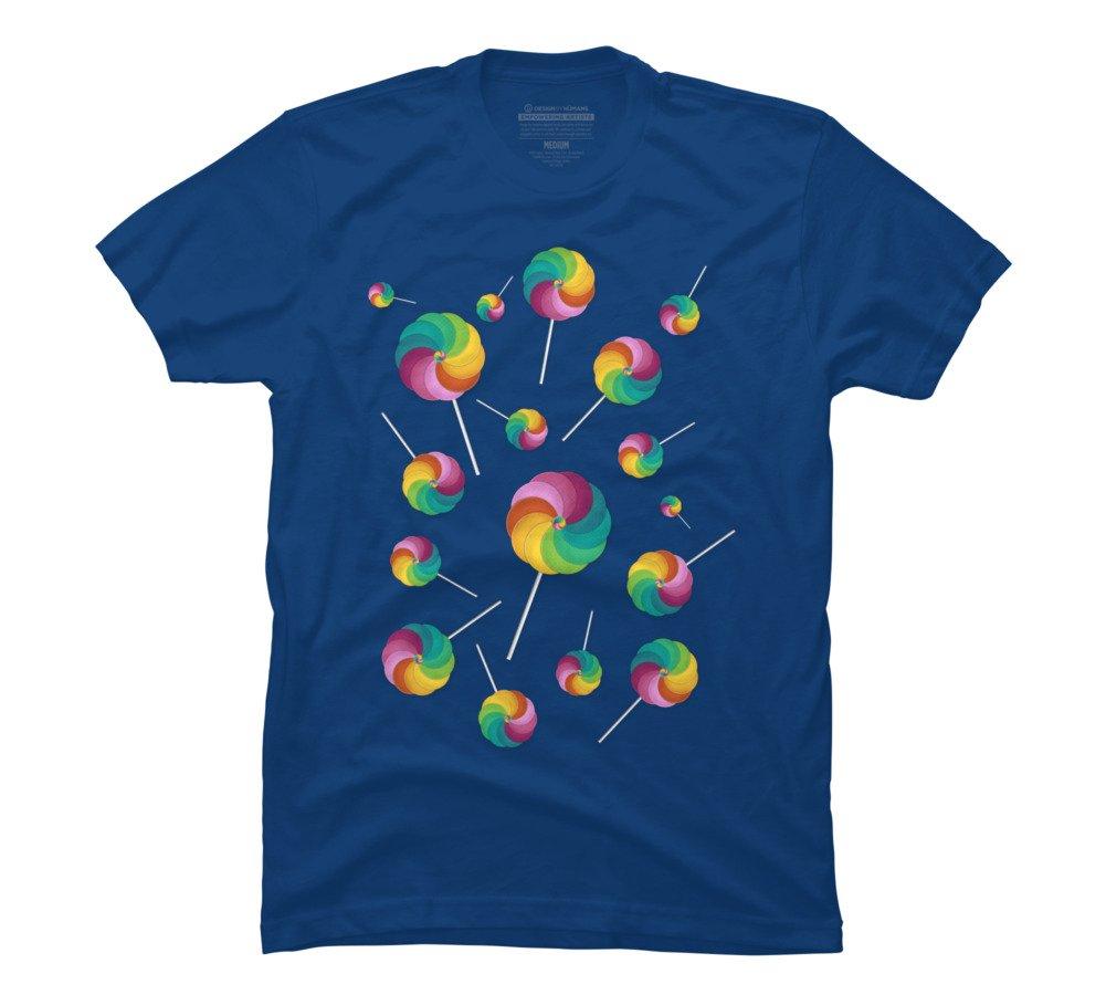 Lollipop Rain S Royal Graphic T Shirt