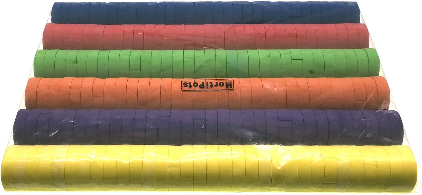 Color-Mixed 2 Neoprene Inserts for Net Pots and Cloning Machines Cloning Collars 2 Inch 192 Pack