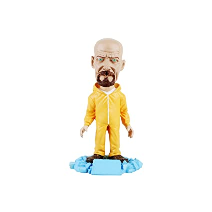 Walter White Jesse Pinkman The Breaking Bad Scientist TV Series HBO Wowheads Bobbleheads Resin Made