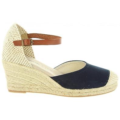 Sandalen für Damen 31006 BAMARA Marron Schuhgröße 36 Cumbia v3RLSZw