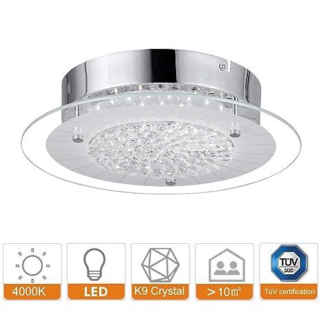 Lámpara LED de techo I Lámpara con efecto de destello I Tarjeta LED I Plafón de ...