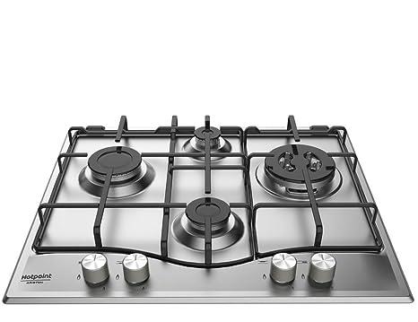 Hotpoint Piano Cottura PCN 641 T/IX Ghisa Gas: Amazon.it: Casa e cucina