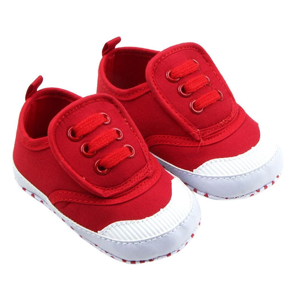 FEITONG Toddler Infant Baby Boy Girl Soft Sole Crib Shoes Sneaker