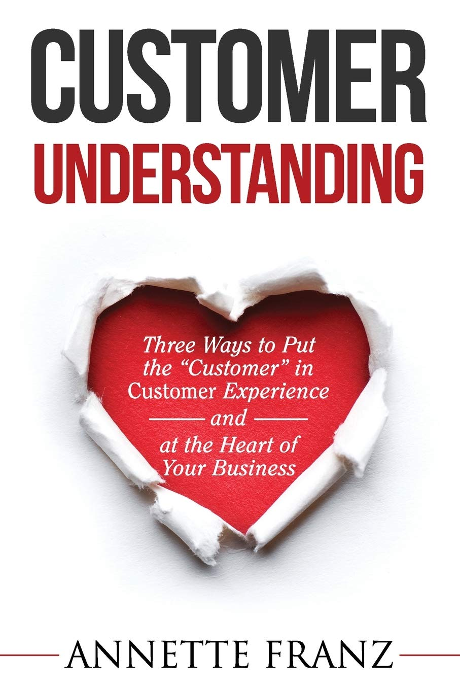 Customer Understanding Three Experience Business product image