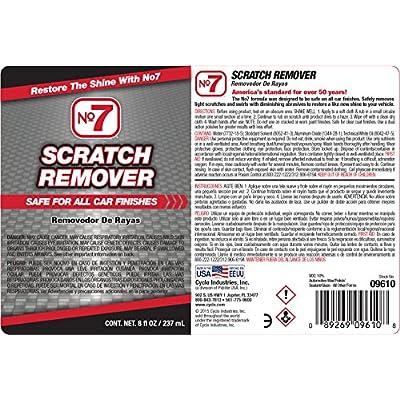 No7 Scratch Remover, 8 fl oz: Automotive