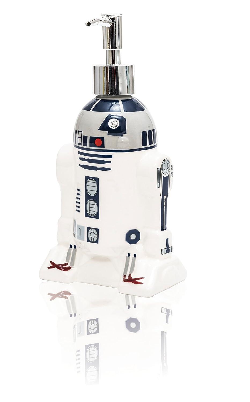 Star Wars 21661 - R2-D2 Seifenspender aus Keramik in Geschenkpackung, 10 x 6 x 21 cm JOY TOY AG