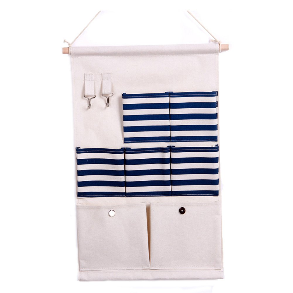 Multilayer Wall Hanging Pocket Wall Door Closet Hanging Storage Bag Organizer