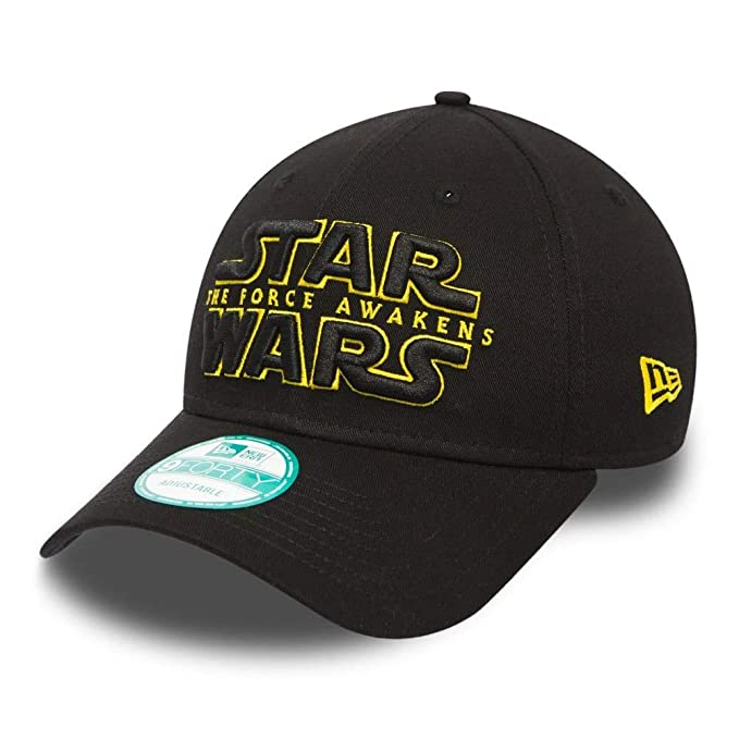 Gorra New Era - Trucker Logo Curve Star Wars negro/dorado talla ...