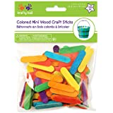 "Mini Craft Sticks-Colored 1.5"" 120/Pkg"
