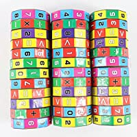 Pandaie Toy,New Children Kids Mathematics Numbers Magic Cube Toy Puzzle Game Gift,Fun Toys for 1 2 3 4 5 6 7 8 9 10 year old