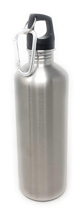 Amazon.com: North Pole Botella de agua deportiva de acero ...