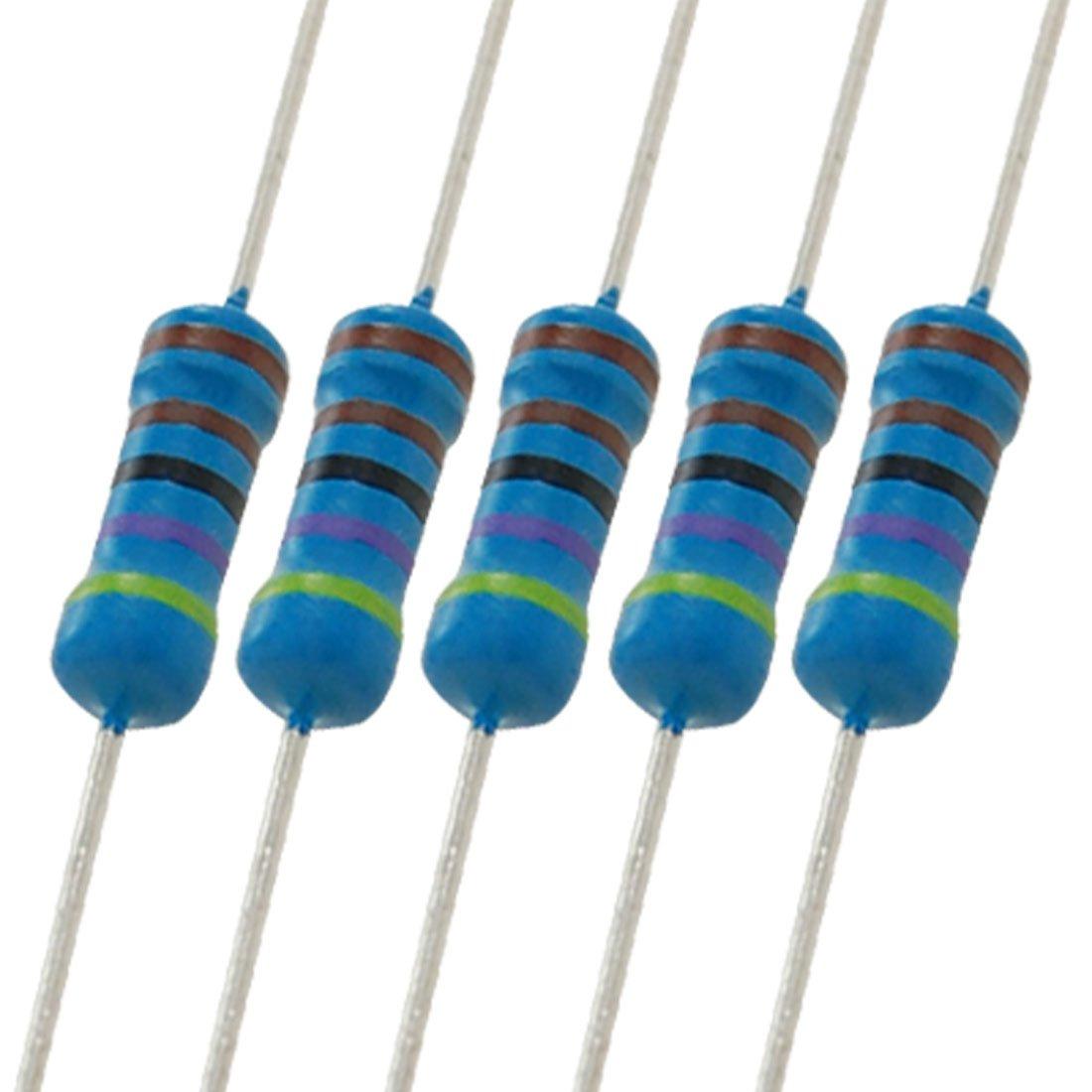 20pcs 3W 3 Watt Metal Oxide Film Resistor Axial Lead 1.2K Ohm ±5/% Tolerance
