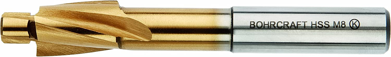 17160301000 Bohrcraft Spotfacer HSS-Co DIN 373/m 10/Quadro Fine Pack of 1/Piece