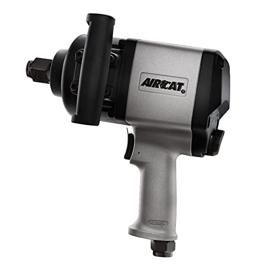 AIRCAT 1880-P 1-Inch Pistol Grip Aluminum Impact Wrench