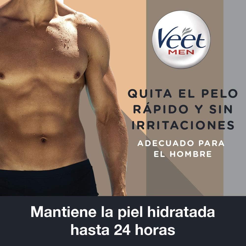 Veet for Men Crema Depilatoria Corporal para Usar Bajo la Ducha ...