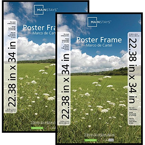 Poster Frame Photo Picture Pocket Plastic Cover 22.38