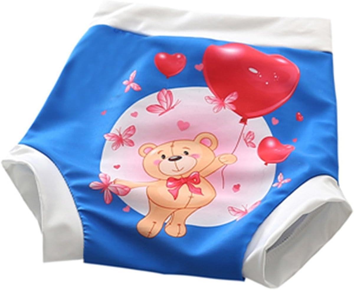 JELEUON Baby Kids Infants Toddler Boys Girls Cartoon Dog Reusable Swim Diaper