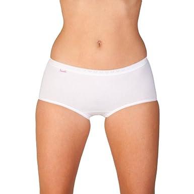 Camille Womens Ladies Midi Brief Underwear Three Pack White Size 10-20 10 5034780f5f